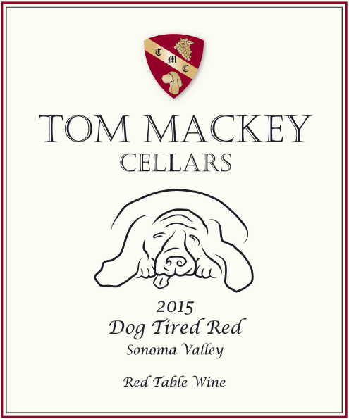 2015 Tom Mackey Cellars Dog Tired Red